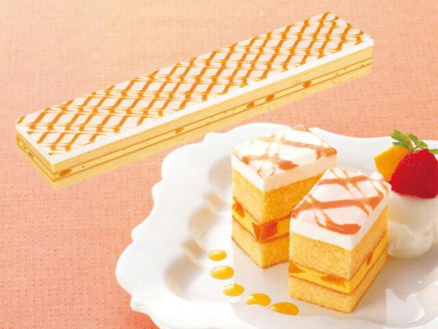 味の素)フリーカットケーキマンゴー475g(冷凍食品バイキングパーティーサンドケーキムース業務用食材
