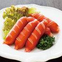 鶏肉を主原料にした切れ目の入った赤ウインナーです。おつまみやお弁当の一品として簡単にお使いいただけます。 ■原材料:鶏肉(...