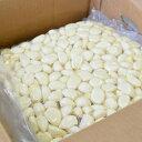 【冷蔵】中国産 ムキにんにく1kg×10パック