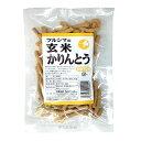 ツルシマ 玄米かりんとう 100g...