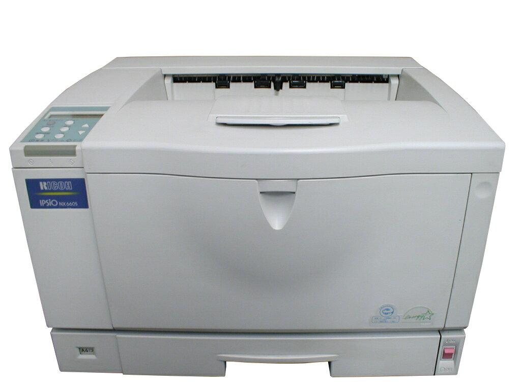 IPSiO NX660S RICOH A3モノクロレーザープリンタ【】 約77,000枚 トナーなし RICOH リコー レーザープリンター 魅力的