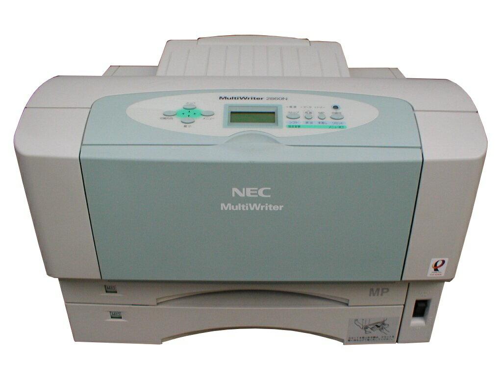 MultiWriter 2860N NEC A3モノクロレーザープリンタ 65,000枚以下【】 NEC レーザープリンター