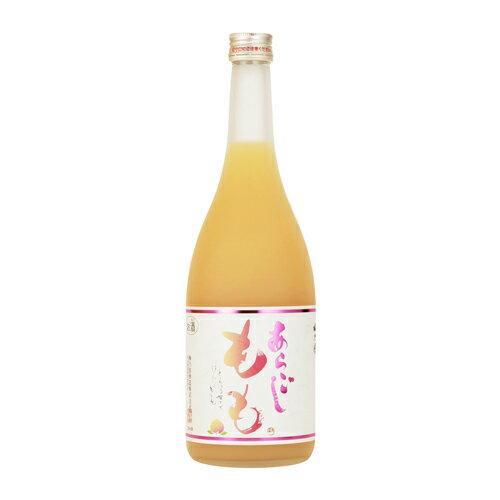 お中元 ギフト 梅乃宿 あらごし もも酒 720ML 12本 奈良県 梅乃宿酒造 リキュール ケース販売 送料無料