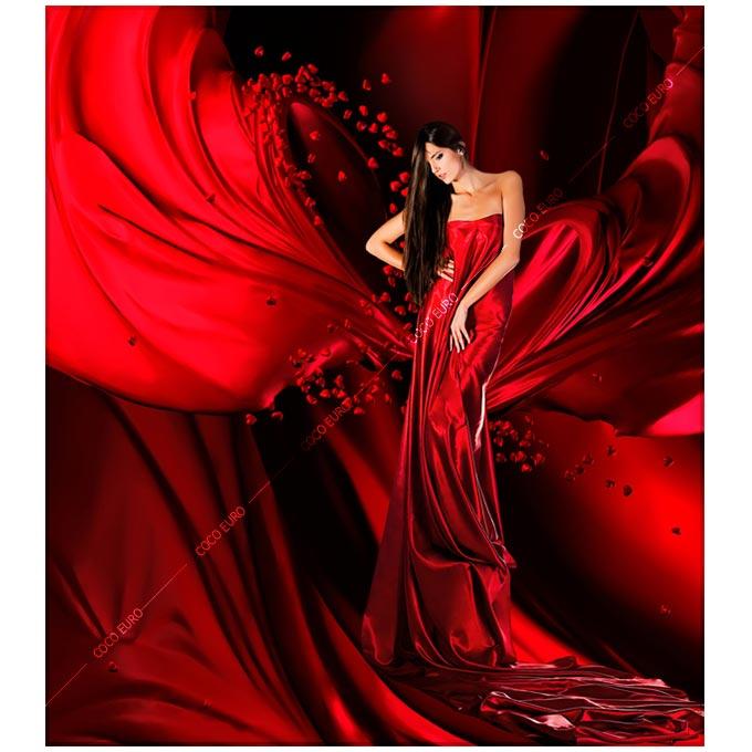 絵画 大型 高級 PLEXIGLAS ON RED DRAPERY SIZE/mm 1500*1750 「こころに残る前衛的空間デザイン」 絵 壁 装飾 コンドミニアム リビング 寝室【上位モデル 最高級マテリアル】