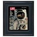 LIFE アートポスター インテリア「宇宙飛行士」おしゃれ 絵 壁掛け 絵画 ライフポスター 復刻 雑誌 表紙 フレーム付き COVERDESIGN