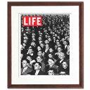 ■全30種類■ライフ(LIFE)復刻版■茶色額■ 期間限定ポスター インテリア アートパネル アートポスターアート モダン アートフレーム ...