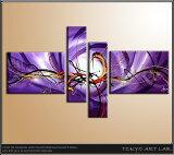 絵画 油絵新鋭作家の油彩絵画がこの価格であなたのお部屋に!【紫の濃淡が美しいダイナミックな抽象画】油絵 洋画 抽象画花柄/和柄/風景画などの絵画リビング ダイニングキッチン 玄関の壁に部屋 個室オフィ