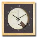 掛け時計 猫 時計 かわいい 壁掛け時計 北欧 おしゃれ【ねこ】壁掛 とけい 壁時計 おしゃれ 人気 立体 デザイン ネコ 子猫