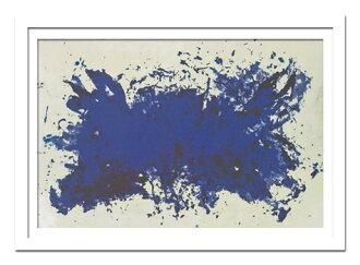 是裝裱的致敬田納西州時裝設計師藝術牆藝術設計師: 伊夫,克萊因 / 裝飾簡單,能產生很好的紫色紫色畫作