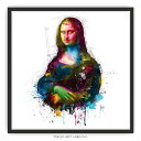 ダヴィンチ モナ・リザ 絵画 おしゃれ Da Vinci Pop 絵 壁掛け モダン アート 額入り MURCIANO