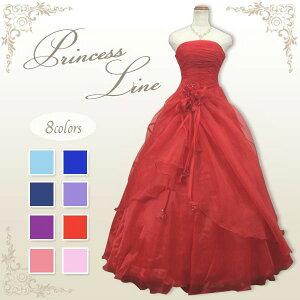 プレゼント ウエディング プリンセス コサージュドレス