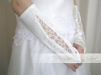 Fingerless glove ☆ off-white (g156)