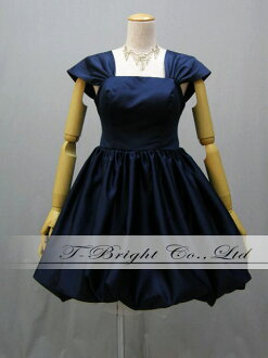 ) size designation / bridal change of dresses watches of the night / wedding ceremony / second party dress ★ 51337 of the party dress ★ minidress ★( navy of the size order medium length ♪ balloon skirt origin