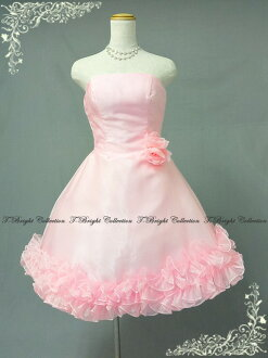 30307 Ys a cute frilly party dress ★ minidress ★ 7 ★ (Pink)
