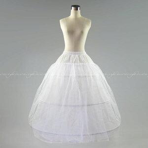ボリューム ワイヤーパニエ ウエディングドレス プリンセス