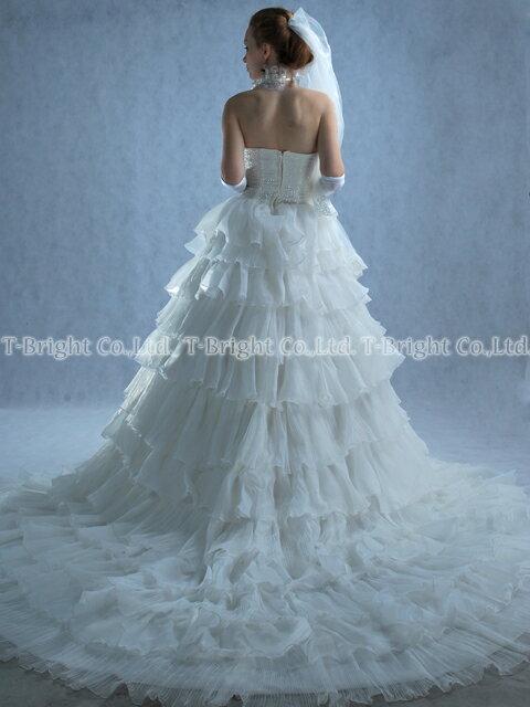 サイズオーダー ウエディングドレス、プリンセス...の紹介画像3