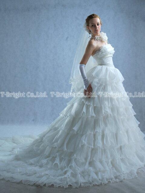 サイズオーダー ウエディングドレス、プリンセスラ...の商品画像