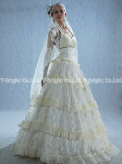 Size order wedding dress ★ princess line ★ tb068