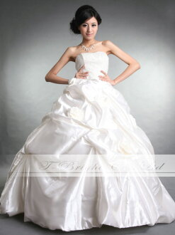 Size order wedding dress ★ princess line ★ (white )tb155)