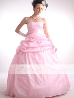 Size order back lace-up dress ★ Princess ★ (Pink) tb188