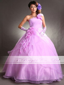 Custom color dress ★ Princess ★ (light purple) tb199