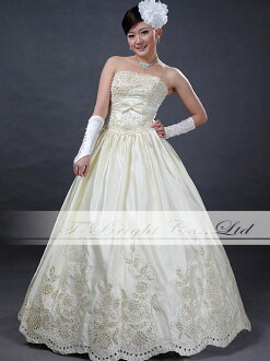 Size order cutlass wedding dress ★ Princess ★ ivory:tb336