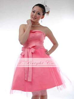 Size order party dress ★ minidress ★( pink) tb377