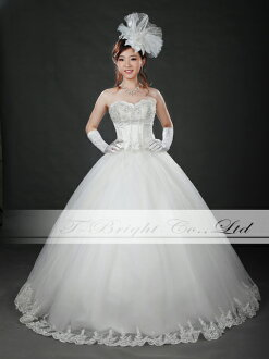 Size order hem embroidery wedding dress ★ princess line ★ wedding ceremony, wedding dress ★ tb534