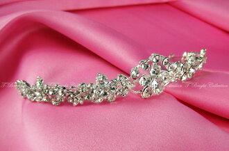 Tiara wedding Bridal Accessories hair accessories headdress headpiece wedding bride rhinestone Crown ornament (t-0505)