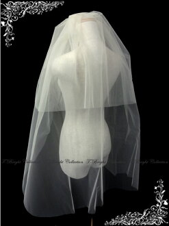 Bridal Fair * sale ◆ ◆ ☆ veil comb with 2-stage veil ★ medium bale ★ cream (v146)
