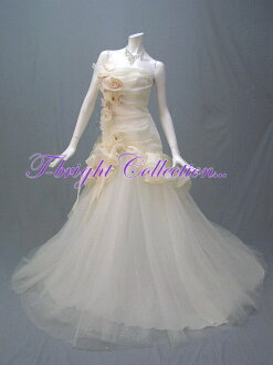 Wedding dress ★ mermaid line ★ 54801 of the ♪ chambermaid frill with the size order corsage