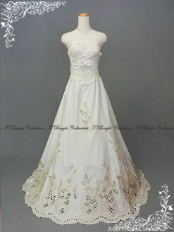 Ys52452's wedding dress race cute A line wedding dress ★ 7 ★ (off white)