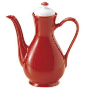 (リーバイ)麗白 老酒ポット高品質/中華食器/赤い食器/ホテル食器