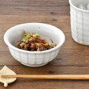 土物の小鉢 (白十草)   和食器/貫入/鉢/取り鉢/ボウル/小鉢