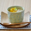 小鉢 グリーン貫入 プリンカップ   和食器/湯呑み/コップ/カップ