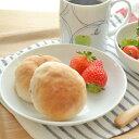 軽くて扱いやすい!軽量磁器プレート(M) 16.5cm    シンプル/白い食器/お皿/中皿/洋食器/取り皿/ポーセラーツ