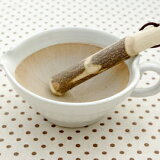 和食器 ごまだれ片口ドレッシングすり鉢 (白マット) ※すり棒は付きません和の食器/離乳食/ナチュラル/シンプル