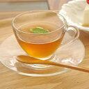 ガラス製 コスモティーカップ&ソーサー   カフェ食器/カップアンドソーサー/ガラス食器