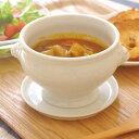 高品質!白磁 ライオントリュフスープ(M) オーブン使用可能   白い食器/トリュフボール/高級食器/パイ包みスープ/ホテル食器/ポットパイ/パーティー