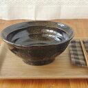 油滴結晶 石目 6.8寸ラーメン丼   丼ぶり/ラーメン丼ぶり/黒い食器/和食器/ボウル