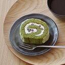 EASTオリジナル 和カフェスタイル たたきプレート16cm (鉄結晶) (アウトレット込み)  中皿/ケーキ皿/黒い中皿/和風ケーキ皿/取り皿/おうちカフェ