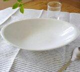 (9inc)オーバルボウル24cm ホワイト (アウトレット)   白い食器/楕鉢/カレーボウル/パスタボウル/ホテル食器/カフェ食器