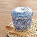 茶碗蒸し(タコ唐草) 茶碗むし/器/染付茶碗蒸し/ちゃわんむし/蒸し碗/和の器/和食器