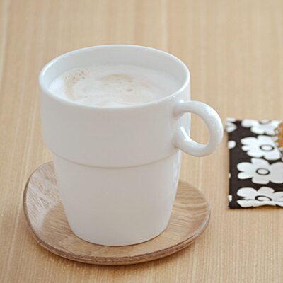 スタック トールマグカップ(ホワイト)