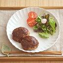ディナープレート EASTオリジナル frill(フリル) (粉引)和食器/パスタ皿/お皿/カフェ食器/カレー皿/中皿/ナチュラル