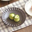 しのぎ 4寸皿 (黒鉄砂) (アウトレット込み)      小皿/お皿/和食器/取り皿/プレート/黒