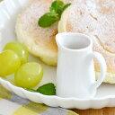ミルクピッチャー (3人用) (ホワイト) (アウトレット)   ピッチャー/白いピッチャー/クリーマー/ミルクポット/コーヒーミルク入れ/