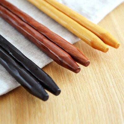 天然木 箸