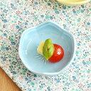 豆皿 パステルカラー 花型 豆皿 ブルー...