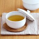 白磁 蓋付き煎茶碗 (アウトレット)    フタ付き/白/ゆのみ/湯飲み/湯呑/汲み出し/汲出碗/茶器/ポーセラーツ